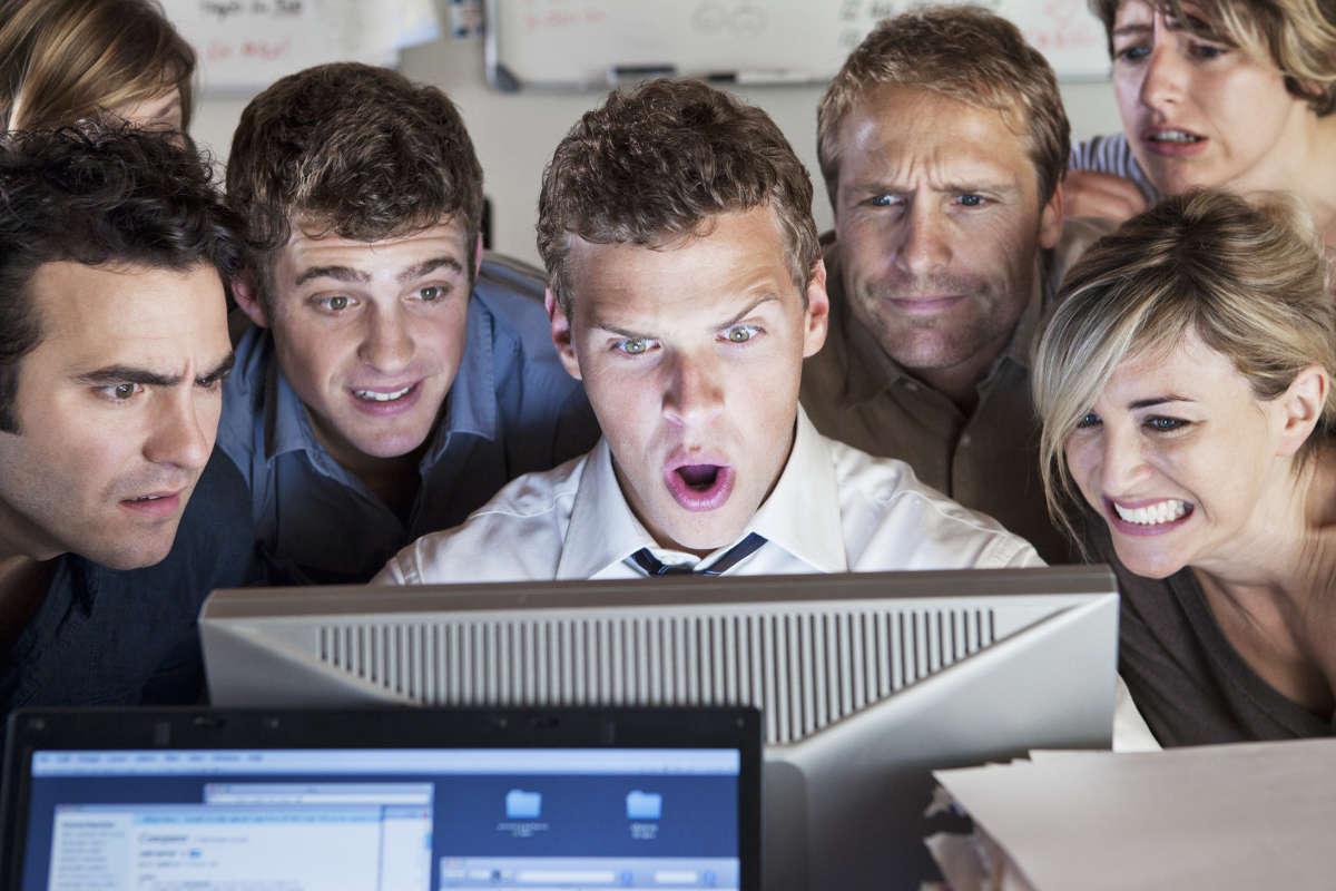 Люди перед компьютером