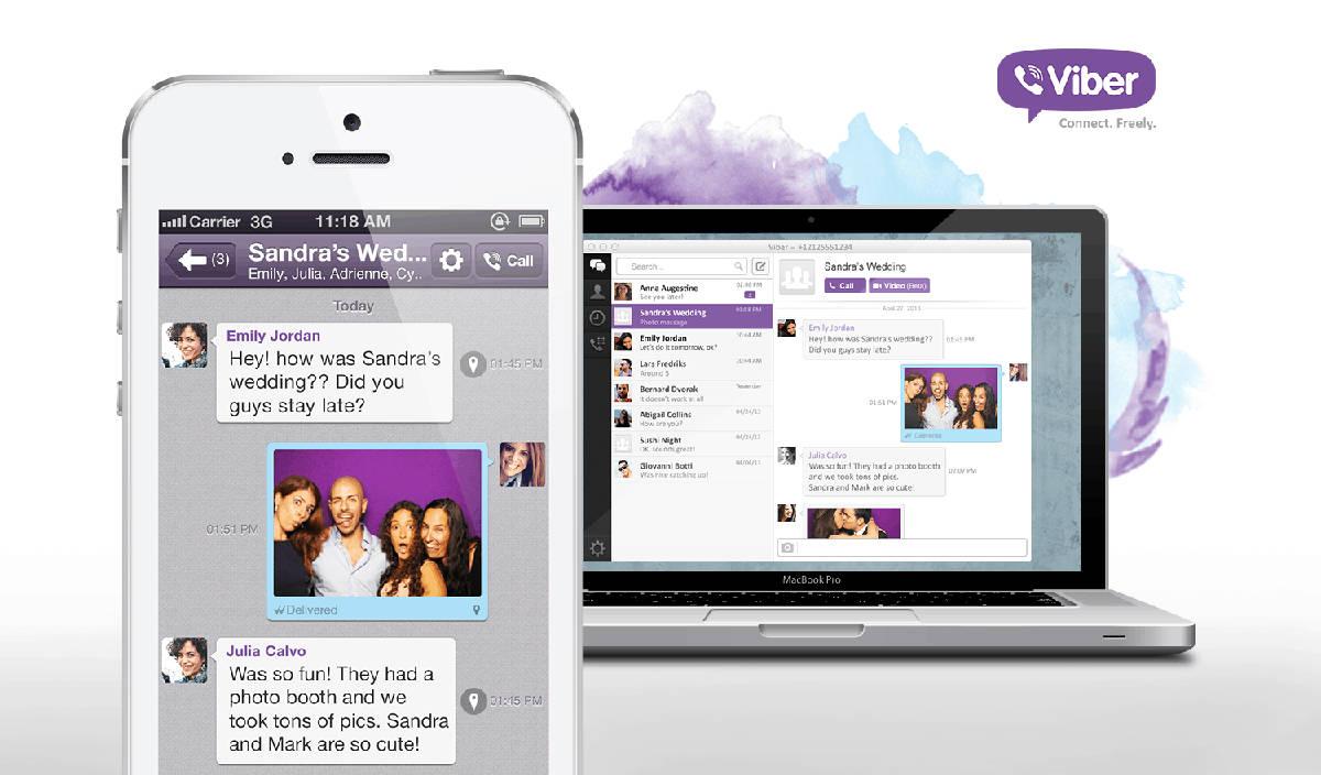 Viber на смартфоне
