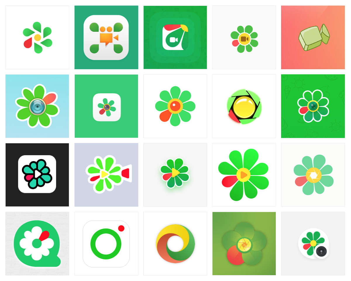 Значки ICQ