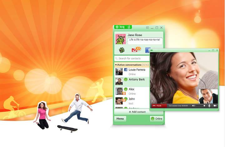 Общение ICQ