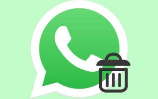 Полное удаление WhatsApp с телефона