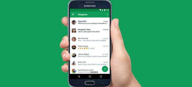 Google Hangouts для Android