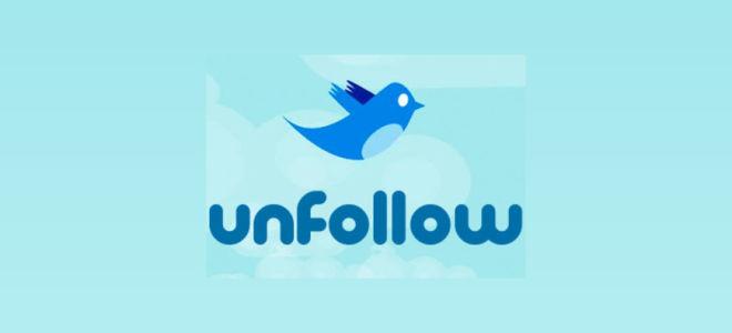 Анфолловеры в Твиттере