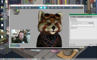 Как запустить Facerig в Skype