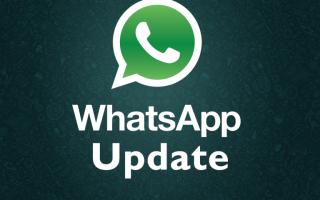 Обновление WhatsApp, как сделать правильно