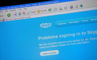Ошибка входа в Skype – устарела версия Internet Explorer