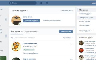 Как посмотреть на кого подписан во ВКонтакте