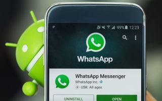 Как изменить имя в WhatsApp