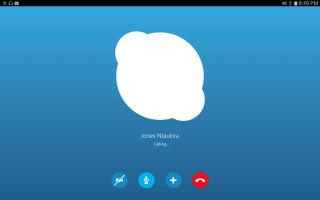 Белый экран при запуске в Skype