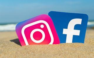 Инструкция как привязать Instagram к Facebook через телефон