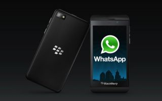 WhatsApp для платфомы Blackberry