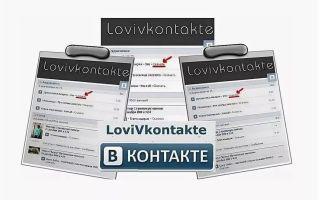 Обзор программы Лови Вконтакте