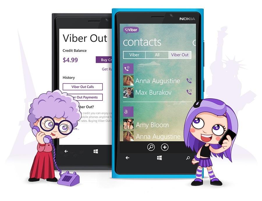 Рисунок Viber Out