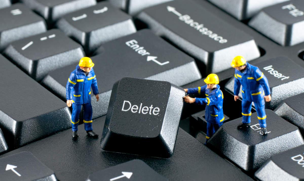 Большая клавиша Delete