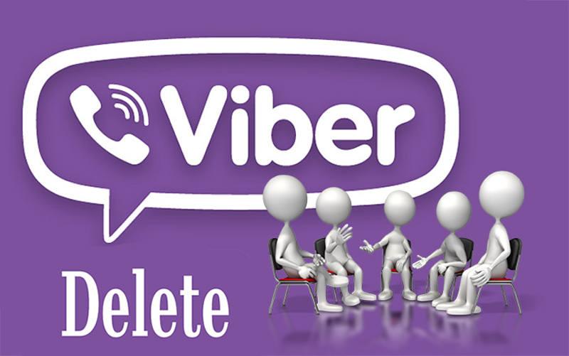 Удаление Viber
