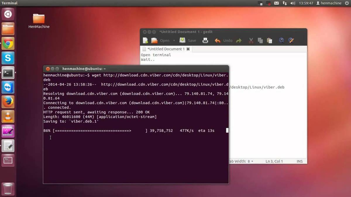 Установка Viber на Ubuntu