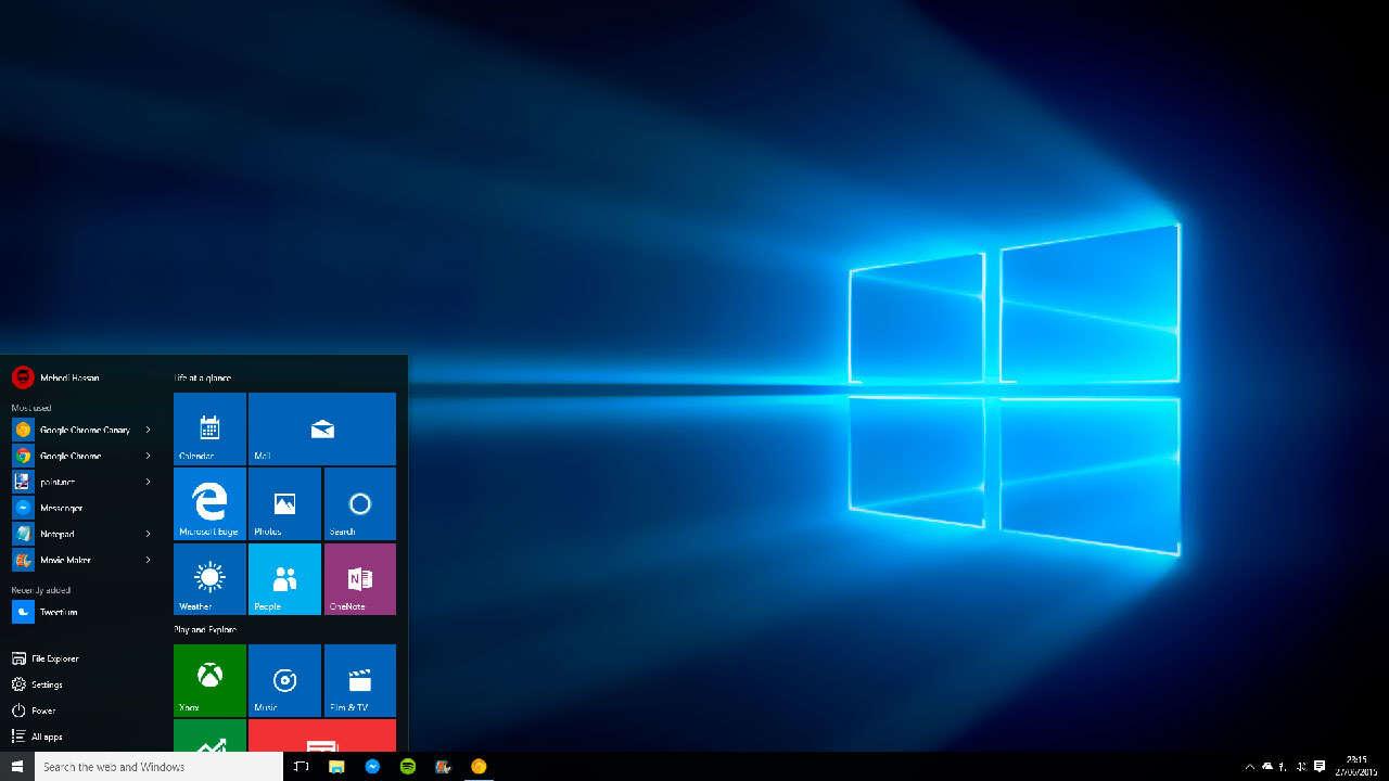 Экран Windows