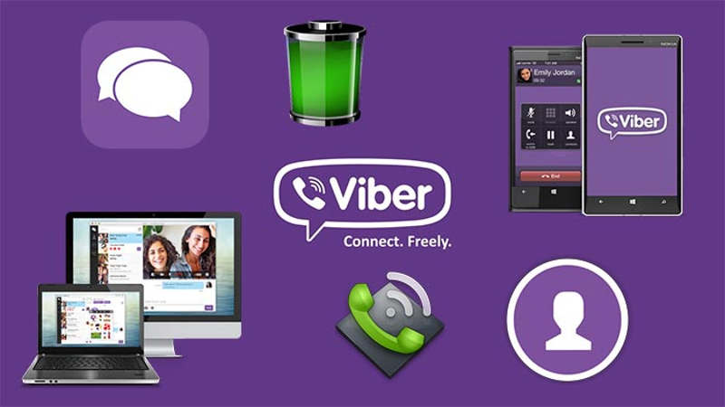 Логотип Viber