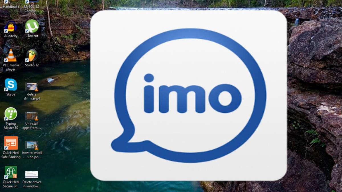 Логотип IMO на экране