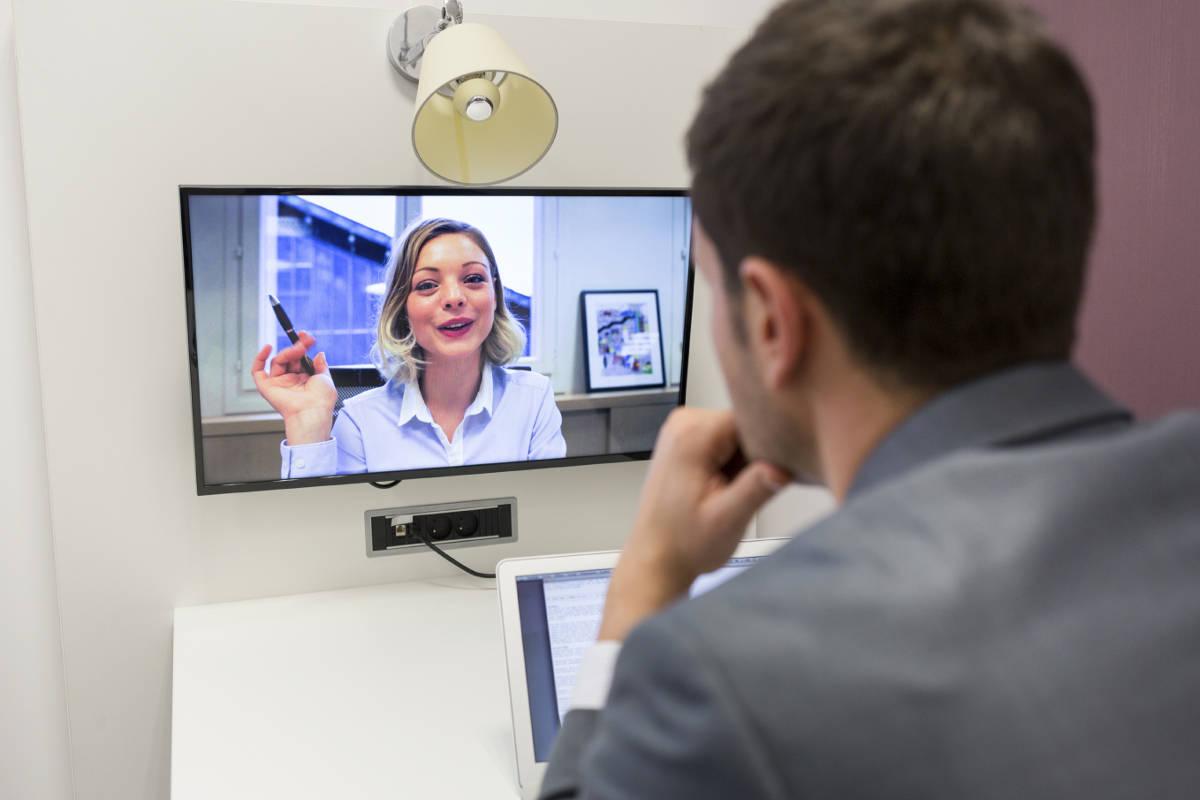 Общение видеоконференция