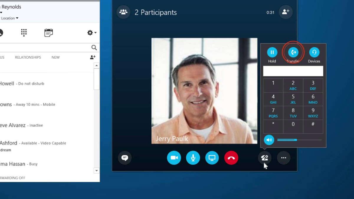 Видеозвонок по Skype