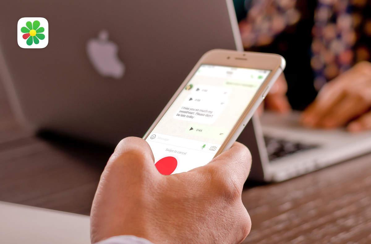 ICQ на смартфоне