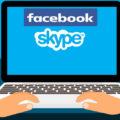 Скайп и Фейсбук