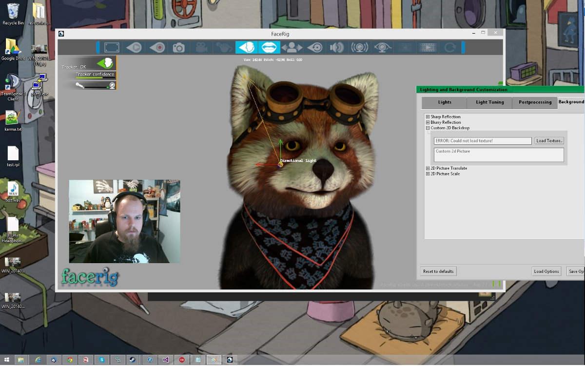 Facerig в Skype