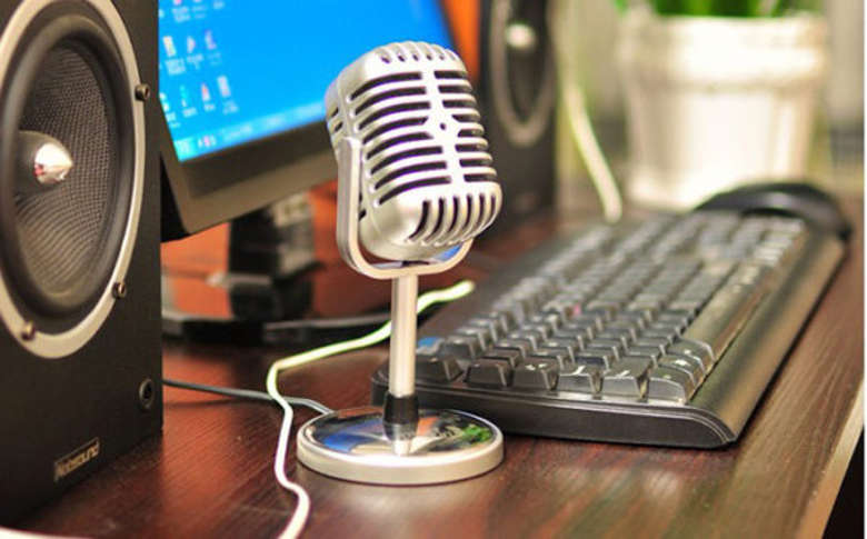 Микрофон у компьютера