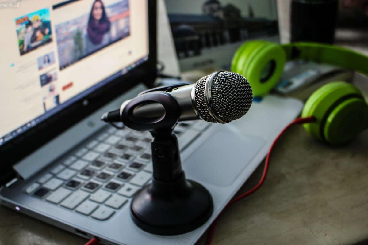 Микрофон на ноутбуке