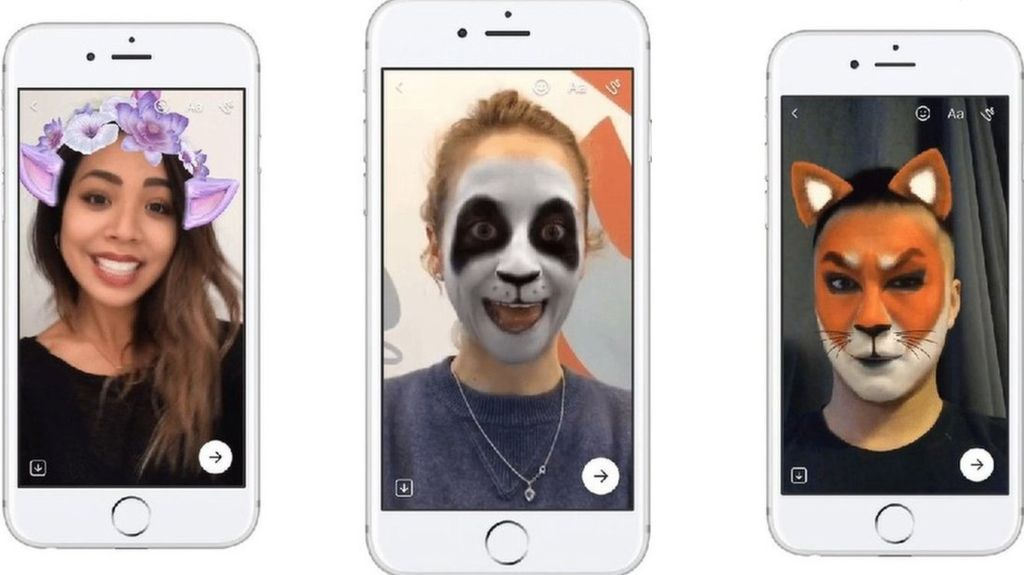 Линзы в Snapchat