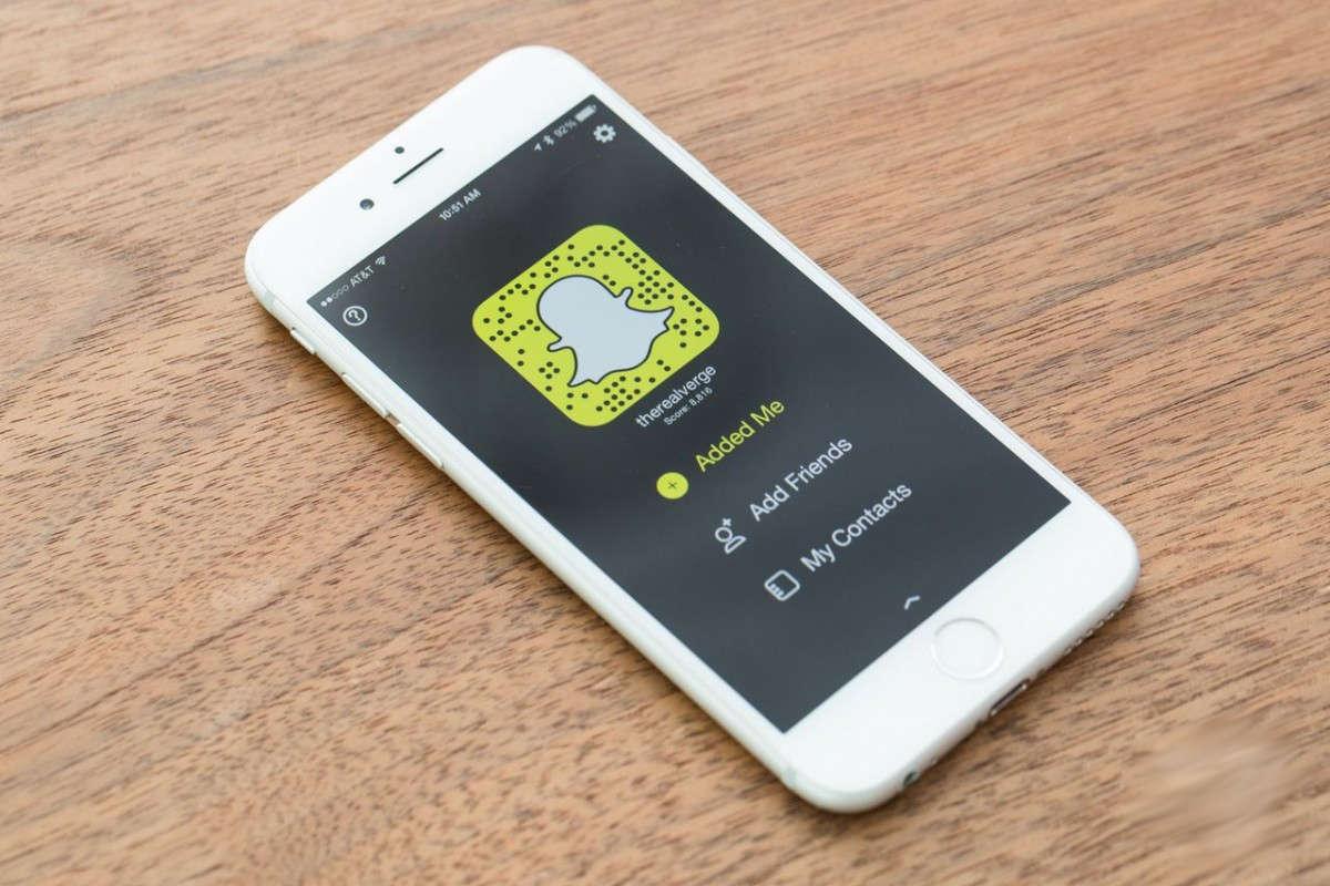 Snapchat на Айфоне