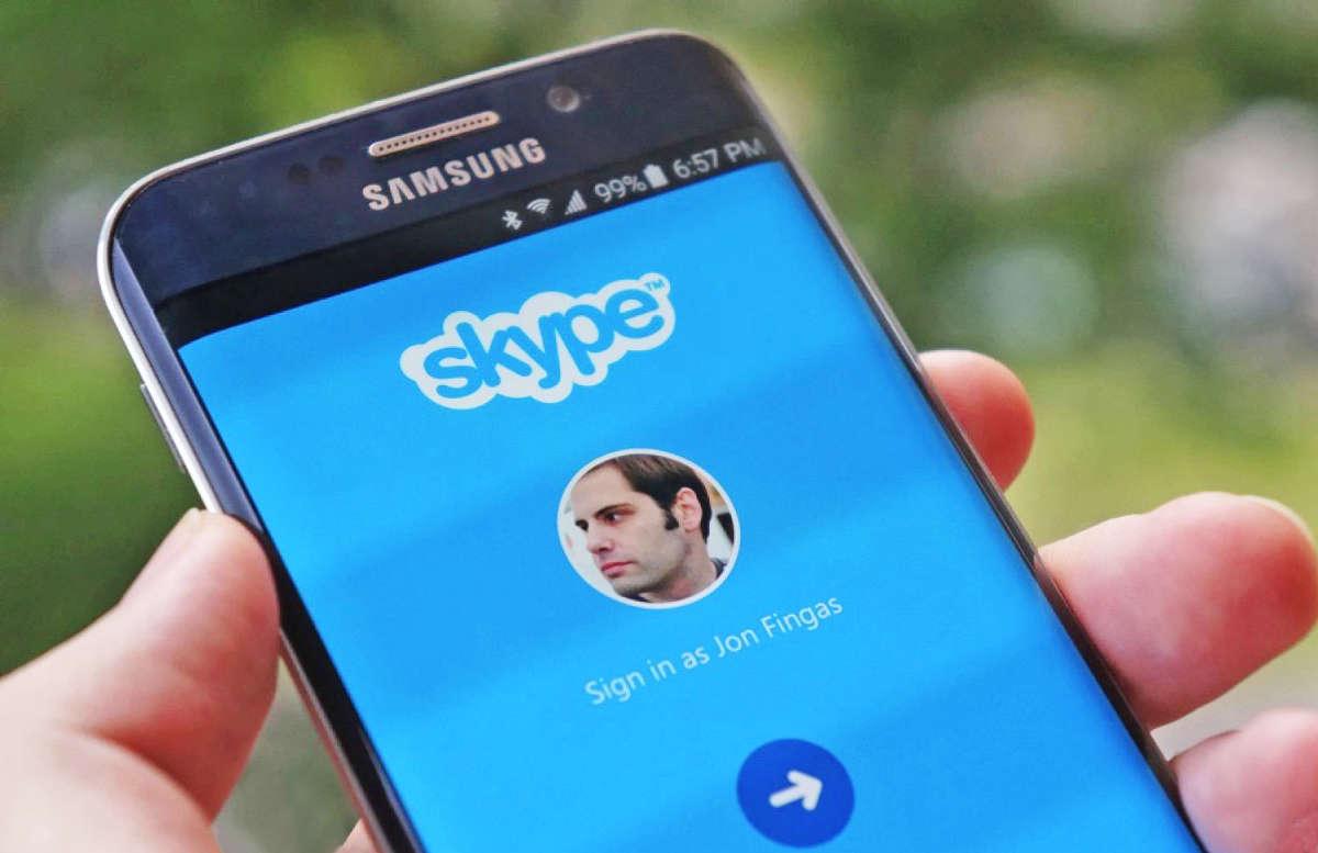 Скайп на смартфоне