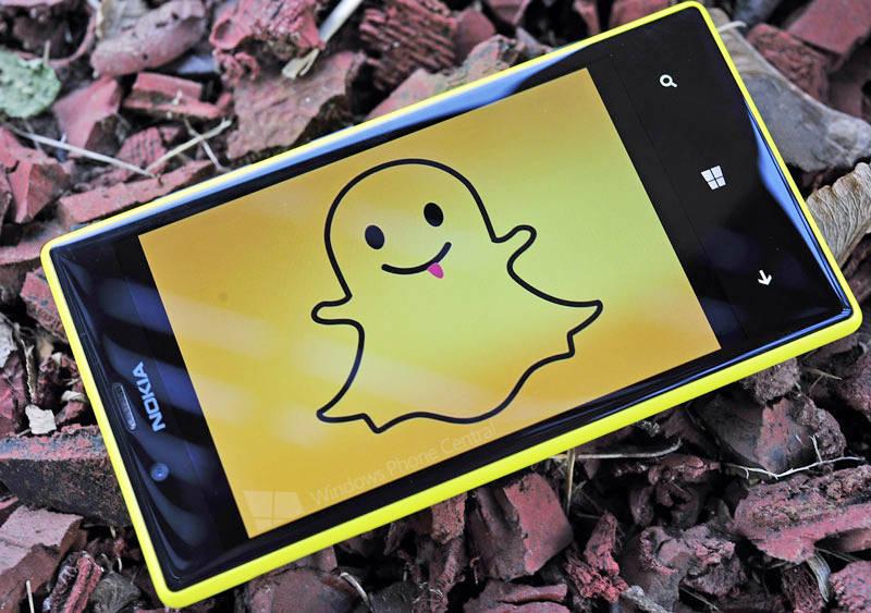 Snapchat на Windows Phone