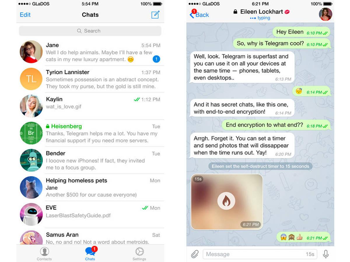 Общение в Телеграм