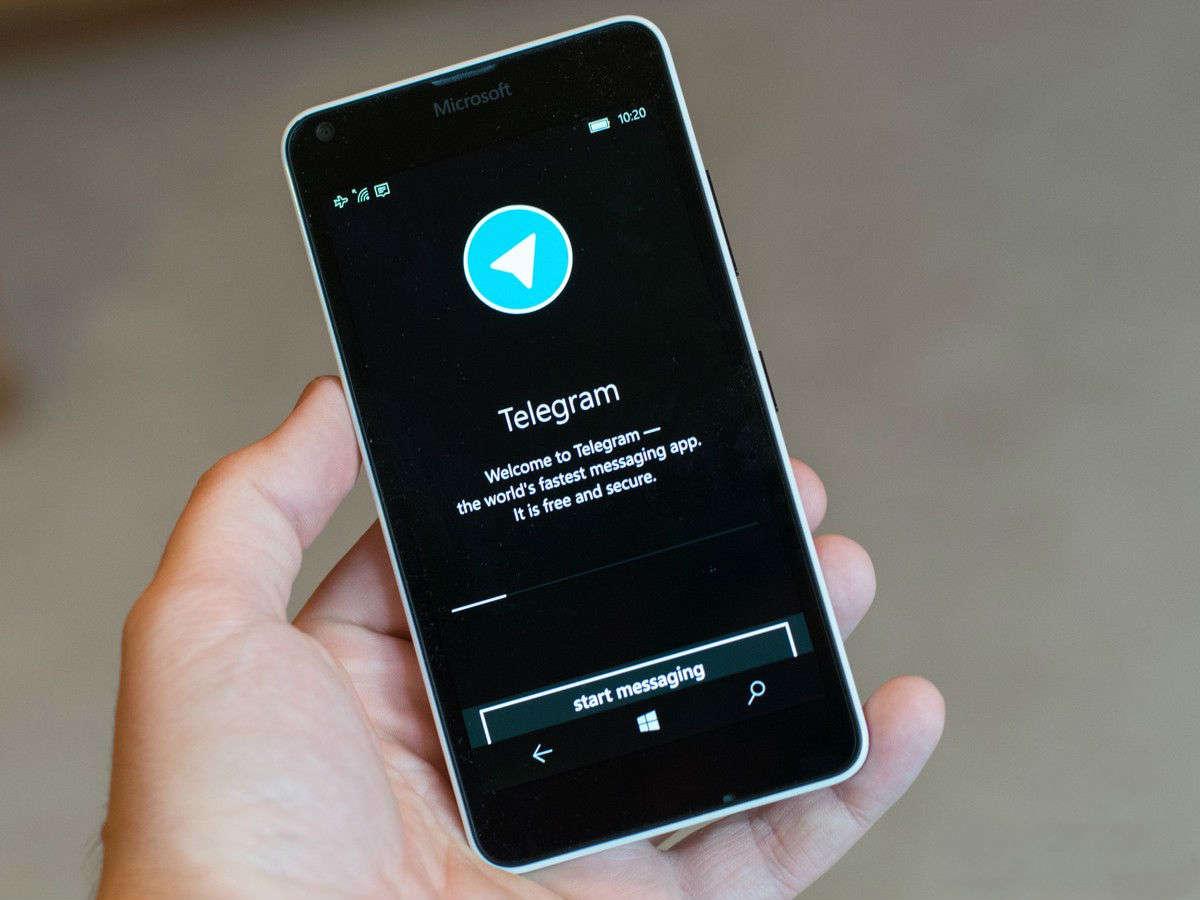 Телеграм на смартфоне