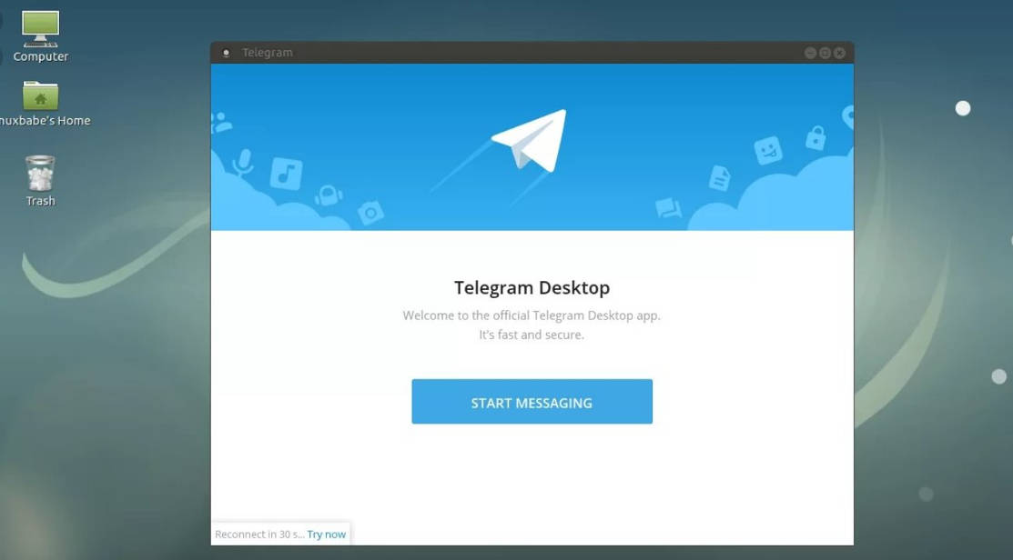 Телеграм для Линукс