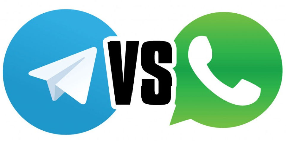 Иллюстрация на тему Сравнение мессенджеров Telegam и WhatsApp: достоинства и недостатки