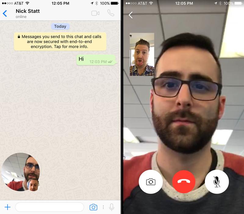 Иллюстрация на тему Как совершать видеозвонки в мессенджере WhatsApp: настройки и правила