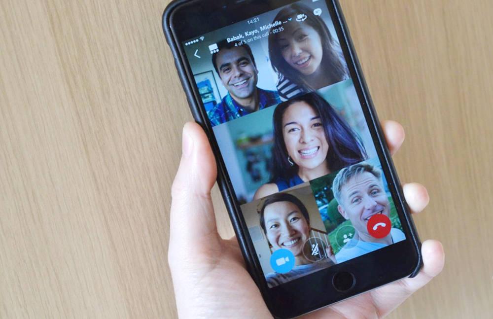 Иллюстрация на тему Функции конференц-связи и групповых звонков в мессенджере WhatsApp
