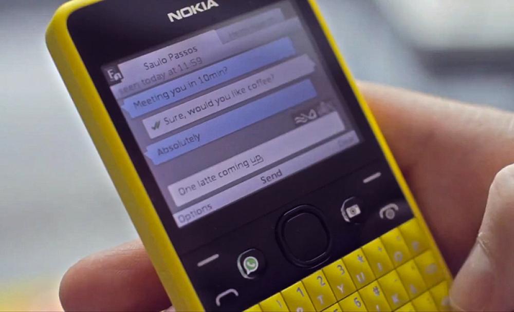 Иллюстрация на тему Кнопочный телефон с WhatsApp: на каких старых гаджетах он работает
