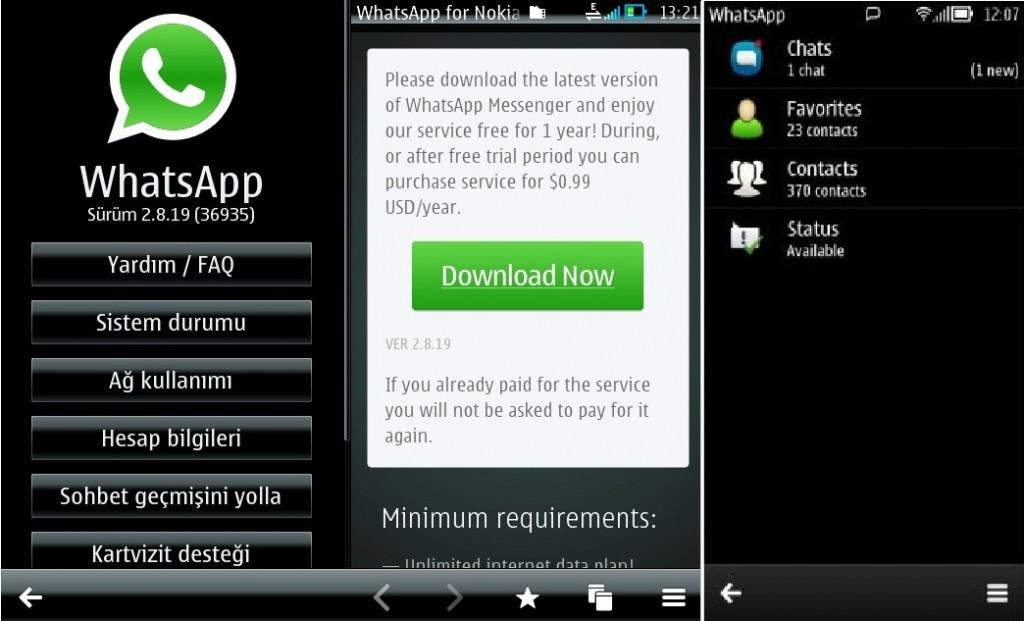 Иллюстрация на тему Что такое WhatsApp Nokia, как работает WhatsApp Symbian