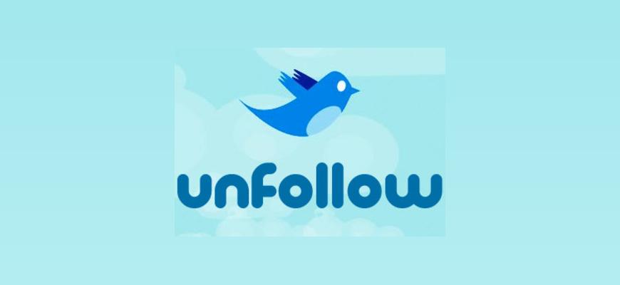 Иллюстрация на тему Анфолловеры в Твиттере: кто отписался от ваших твитов
