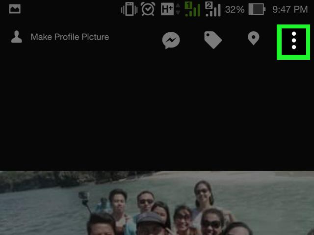 Иллюстрация на тему Как удалить фото в Фейсбуке на своей странице: аватара, альбома