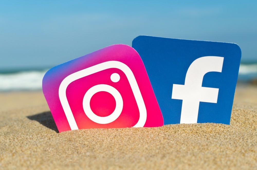 Иллюстрация на тему Как привязать Фейсбук к Инстаграму через телефон Андроид