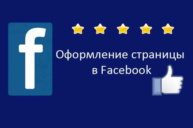 Иллюстрация на тему Как правильно оформить страницу в Фейсбук: основные принципы