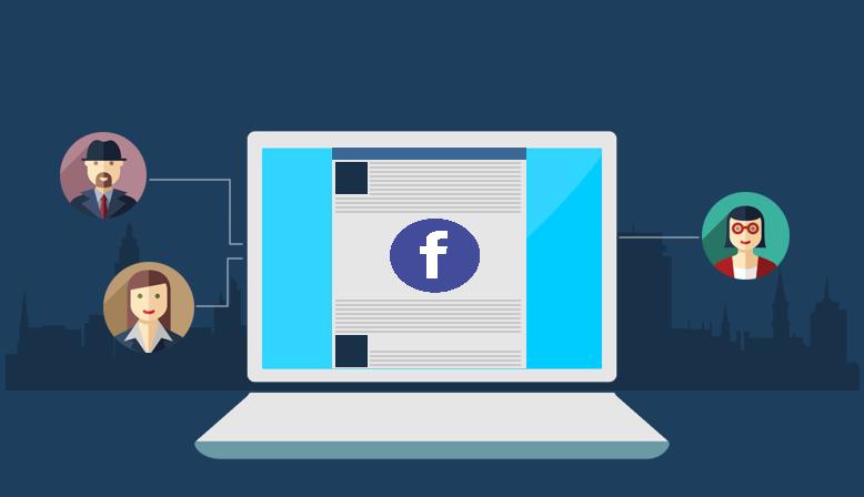 Иллюстрация на тему Как упомянуть человека в Фейсбук: отметить в посте, публикации, тексте