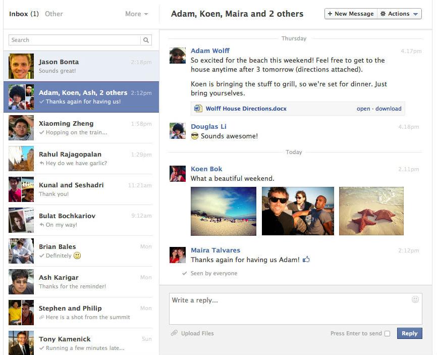 Иллюстрация на тему Как написать в личку в Фейсбук: просмотр, удаление, рассылка сообщений