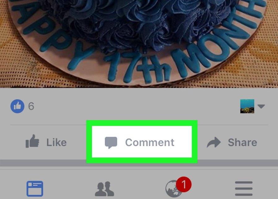 Иллюстрация на тему Как вставить гифку в Фейсбук: на компьютере, на телефоне
