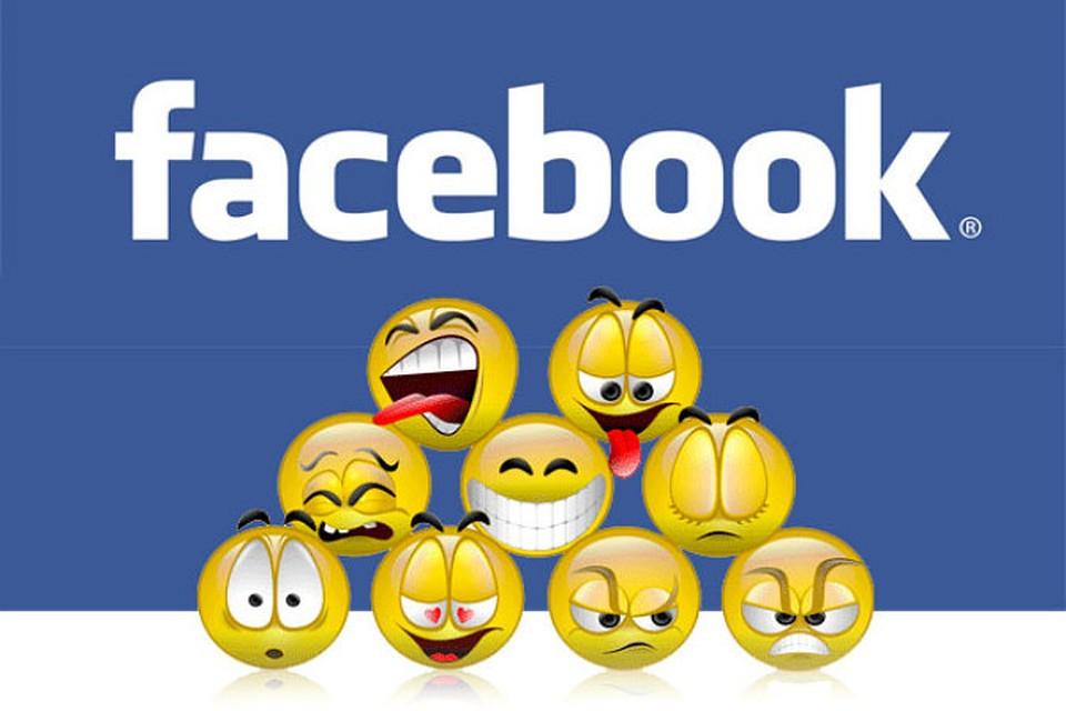 Иллюстрация на тему Facebook smiles: стандартные, секретные, скрытые смайлы